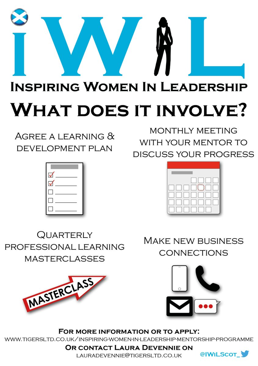 Want to know what is involved in IWiL mentorship programme, look no further. Excellent opportunity to work with an experienced leader who will help you reach your goal. #ICanIWiL #ambition #scotland<br>http://pic.twitter.com/x5WdhgrXIz