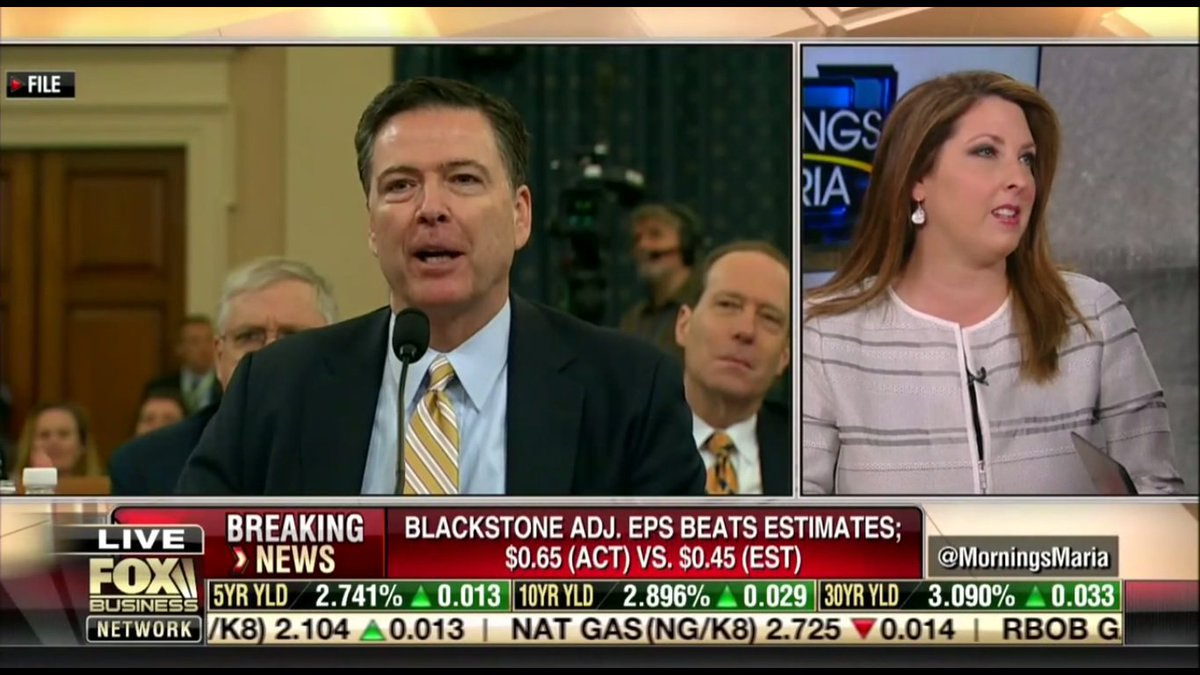 RNC Chair Ronna McDaniel Says Good Riddance to James Comey: 'Glad to See Him' Split From GOP (VIDEO) https://t.co/tD1kFgfRSf