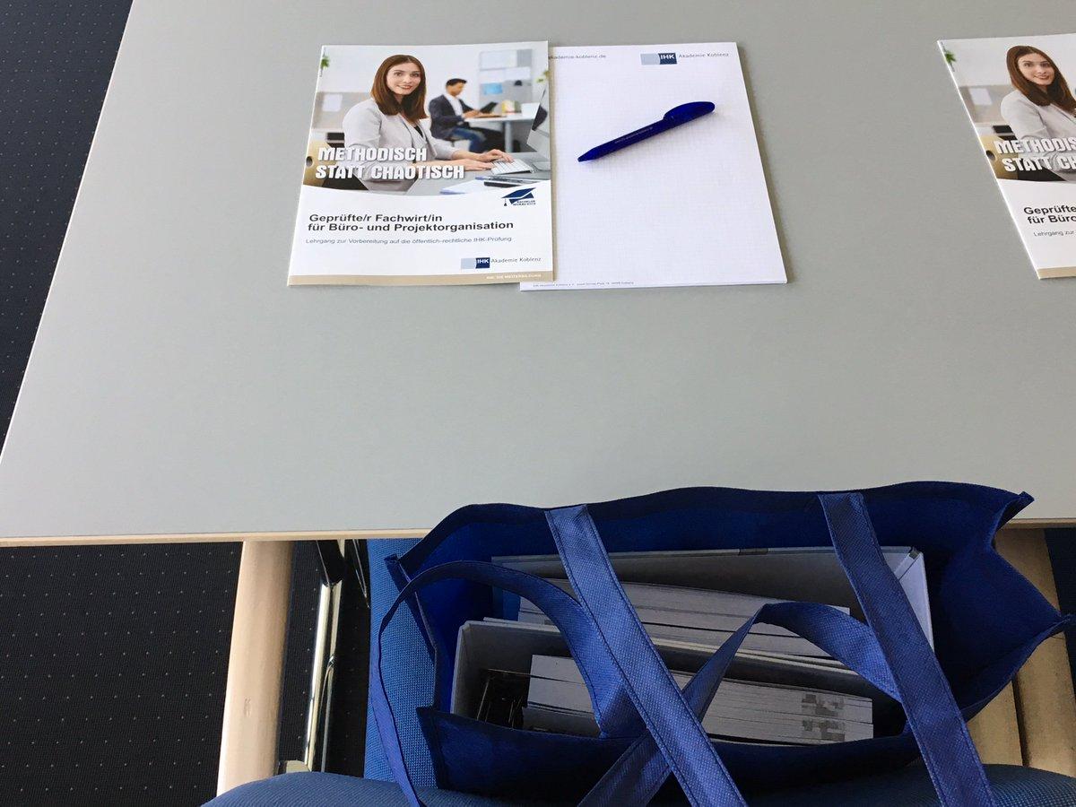 Ihk Akademie Koblenz On Twitter Endlich Geht S Los Gestern Ist