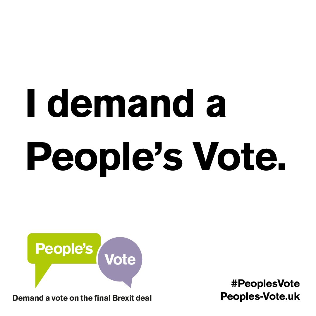 People's Vote UK on Twitter: