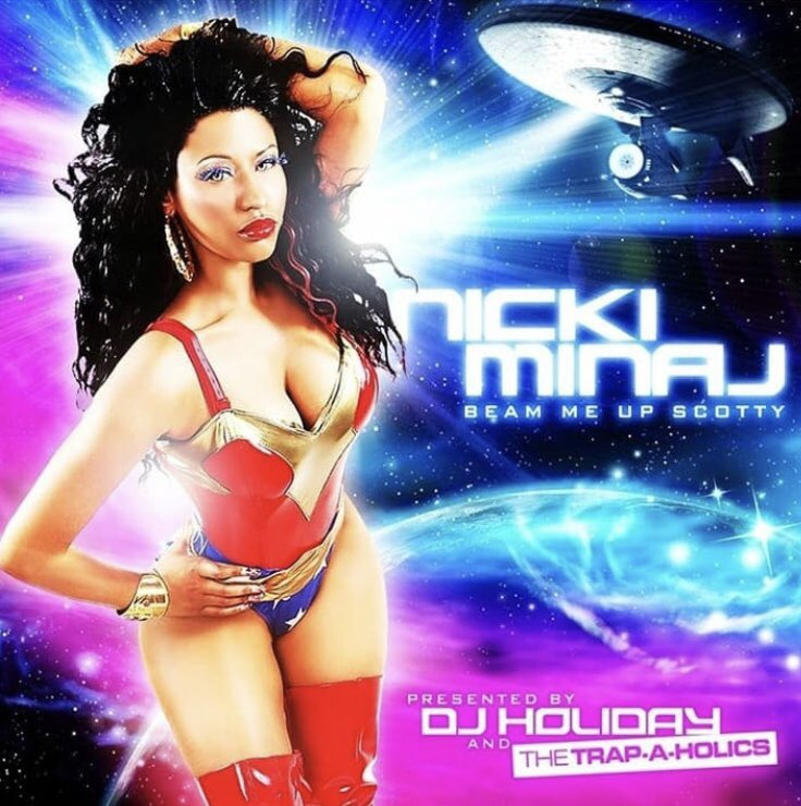 9 yrs ago today @NICKIMINAJ Released Beam  Me Up Scotty #legendary #lifechanging <br>http://pic.twitter.com/PTtvy6ZZQi