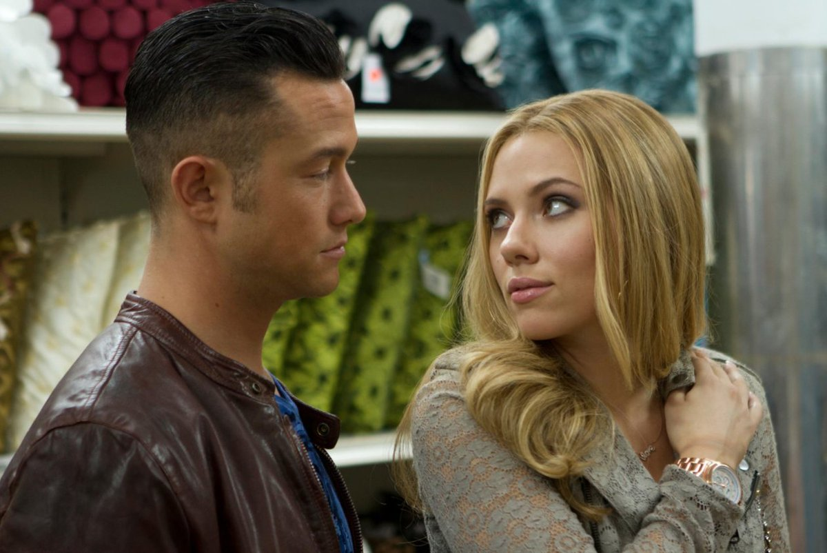 Me and Scarlett in Don Jon  #tbt