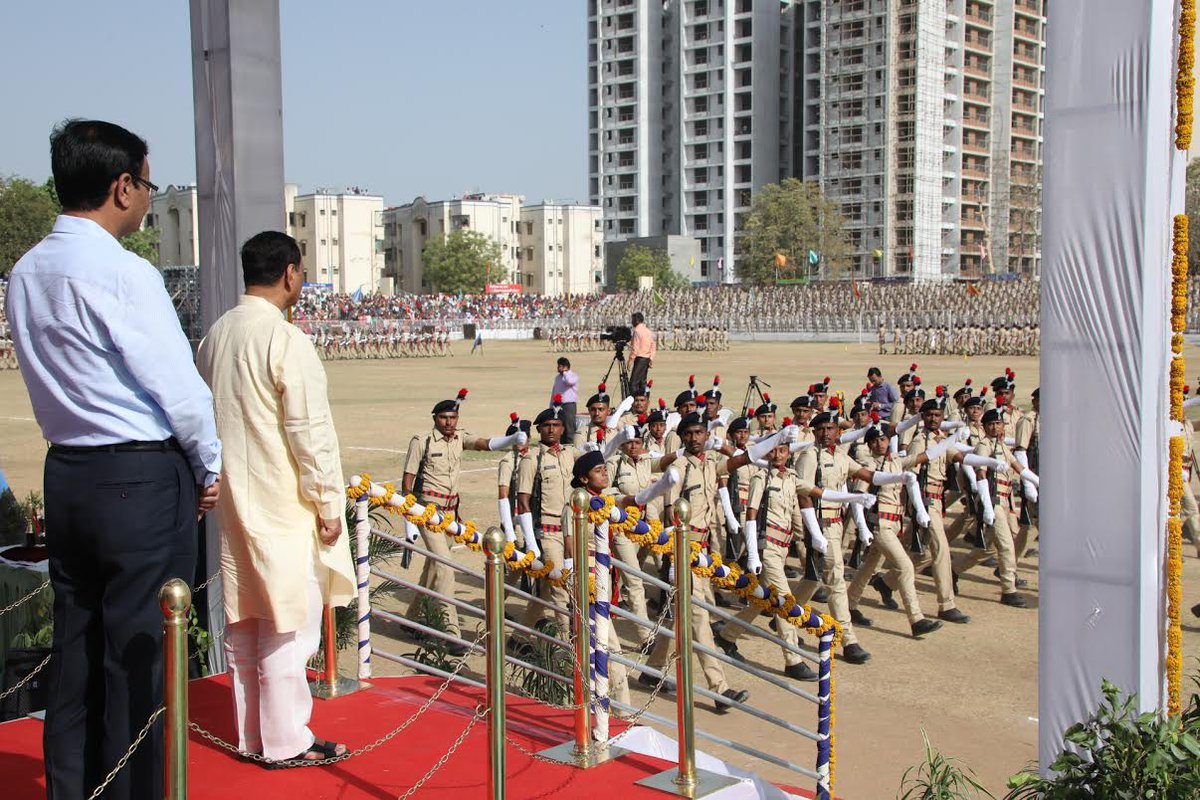 Gujarat's biggest-ever passing-out parade to induct 2,301 Lok Rakshaks held