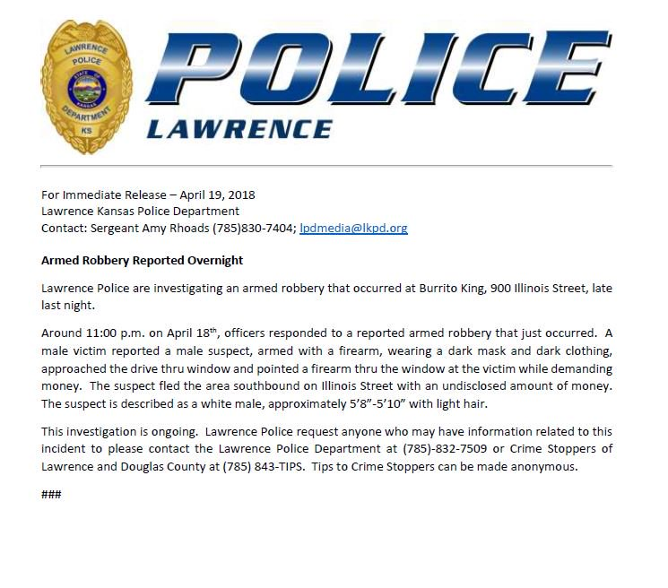 LawrenceKS_PD photo