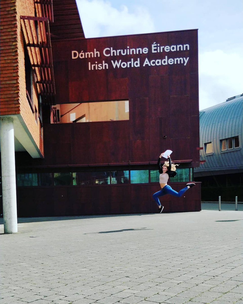 It&#39;s Final Year Project submission day here at the Irish World Academy! Well done everyone! #studyatul @UL @ResearchArtsUL @StudyArtsUL @Keeganflute @orfhlaithdance<br>http://pic.twitter.com/MYm9eFjexU