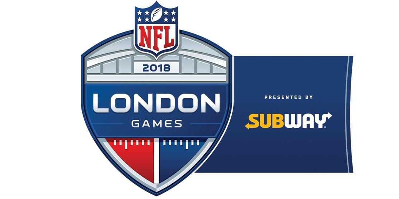 NFL announces times, dates for 2018 International Series games in London https://t.co/91dALJcw7f https://t.co/oP55S0liH1