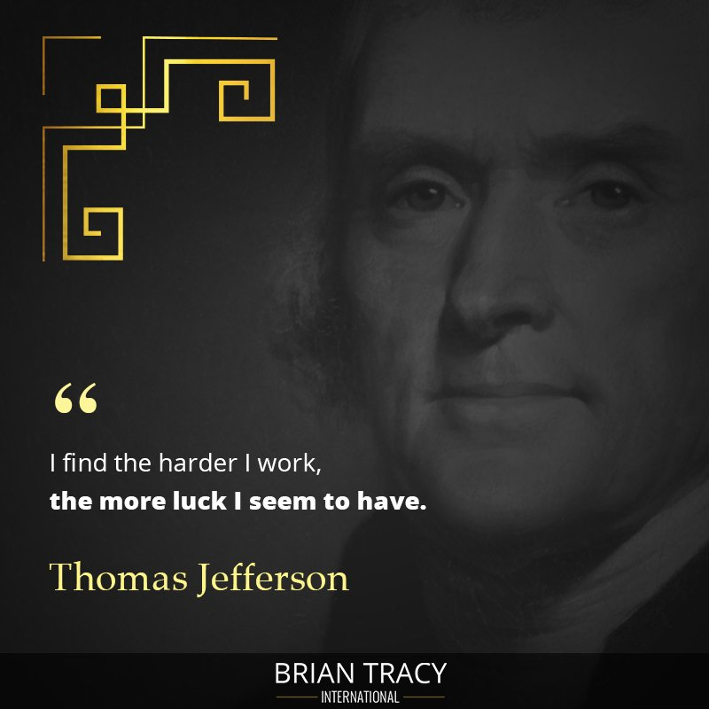 #Luck is nothing but a combination of #determination and hard work. #ThomasJefferson<br>http://pic.twitter.com/nIRAEsyN57
