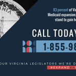 From now until June 30th, the Virginia General Assembly is deciding whether or not to expand Medicaid to bring healthcare to 400,000 Virginians.   FLOOD THE PHONE LINES!! https://t.co/fv4bnV55o4…/expanding-medicaid-virginia/