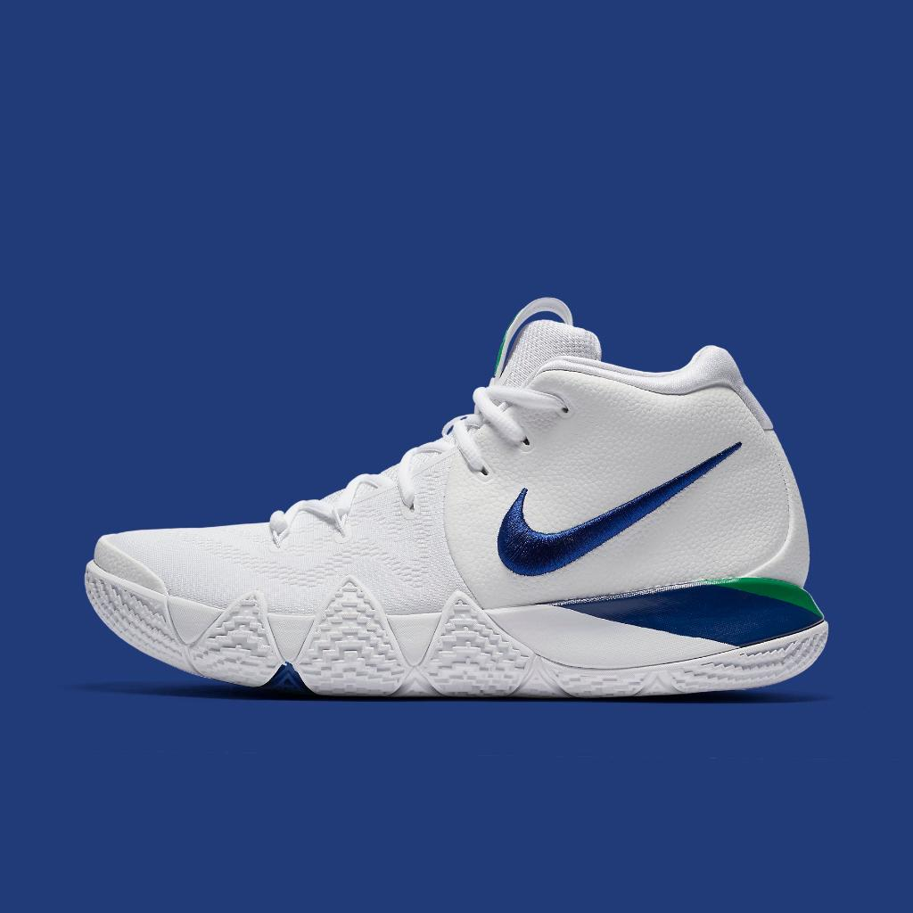 the latest e392f 908ff ... netherlands new kyries just dropped nike kyrie 4 white deep royal  available now in e9364 c6a22 ...