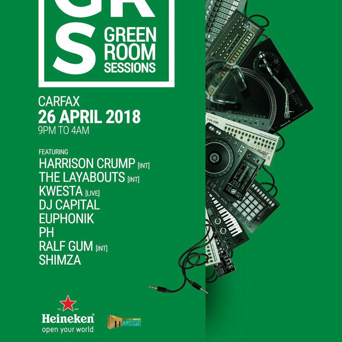 #heinekengreenroom Photo