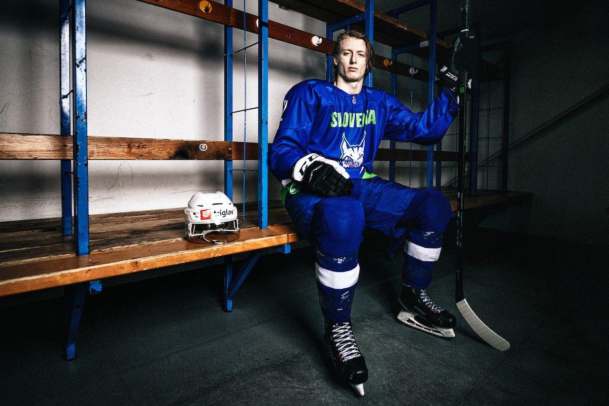 Kako je mladi hokejski napadalec Jan #Drozg doživljal prvo sezono čez lužo, priložnost v ligi AHL in vpoklic med velike #risi @lovehokej?💪🏒 Foto: @Sportida_com