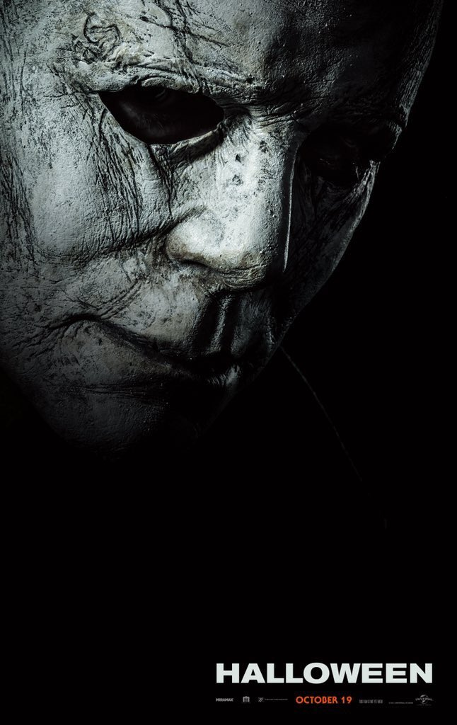 Six months away! That mask! 😃 That title!! 👀 What do you guys think? #Halloween 🎃