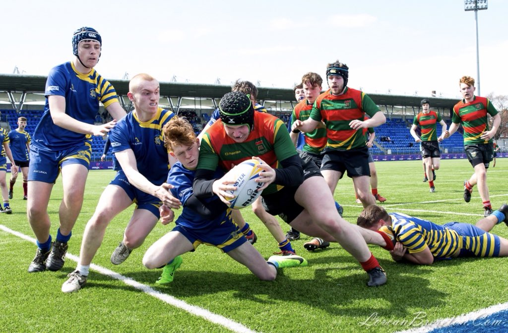Excellent day of rugby yesterday in #Energiapark for the final of the 2018 South Dublin Cup. Congratulations to both @OatlandsColl and @stbenildusSC #FromTheGroundUp <br>http://pic.twitter.com/0cNgFOnk7Z