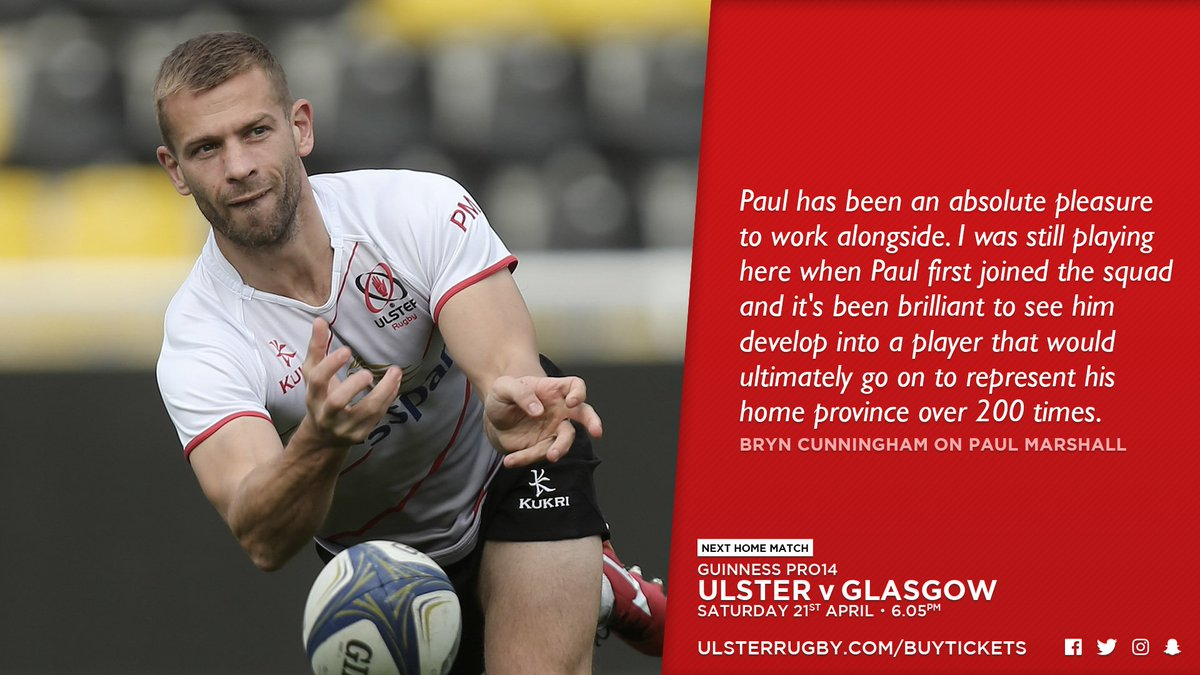Ulster Rugby @UlsterRugby