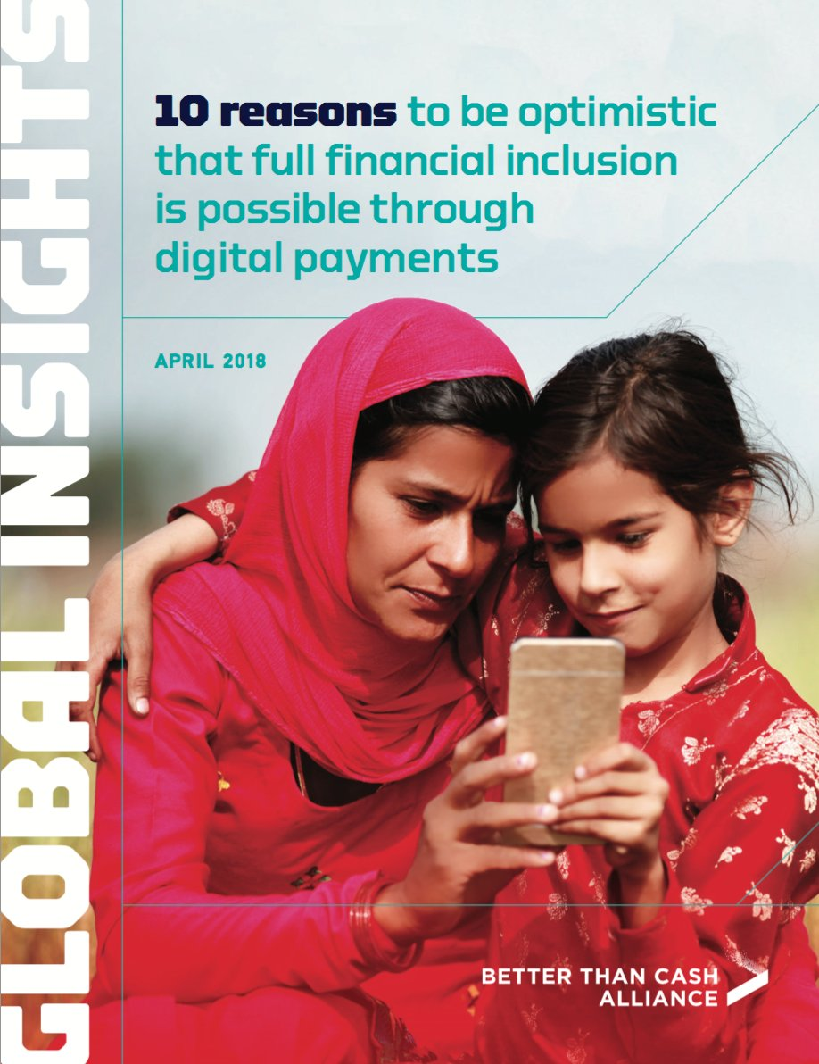 #Digitalpayments played a pivotal role in enabling over half a billion people access financial services for the first time in the past 3 years: @GlobalFindex   Here are 10 reasons to be optimistic that #digitalpayments can lead to FULL #financialinclusion:  http:// ow.ly/cN6U30jzwUd  &nbsp;  <br>http://pic.twitter.com/ieQ5pSfOUK
