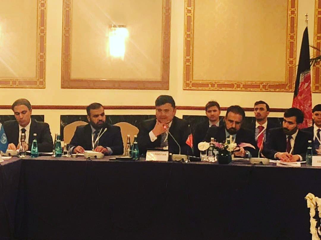 ختم موفقانه نشست مسولین عالیرتبه پروسه قلب آسیا!  امنیت و رفاه افغانستان و منطقه  بهم گره خورده و تنها راه امنیت و ثبات در منطقه سرمایه گزاری بالای امنیت و ثبات افغانستان است.