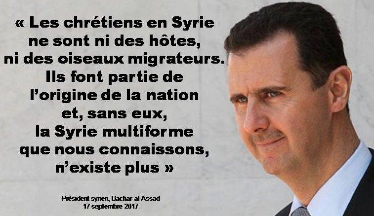 ����✝️ #Assad #ChretiensdOrient #Christians #Syria  #Syrians https://t.co/lSd2IKDqyV