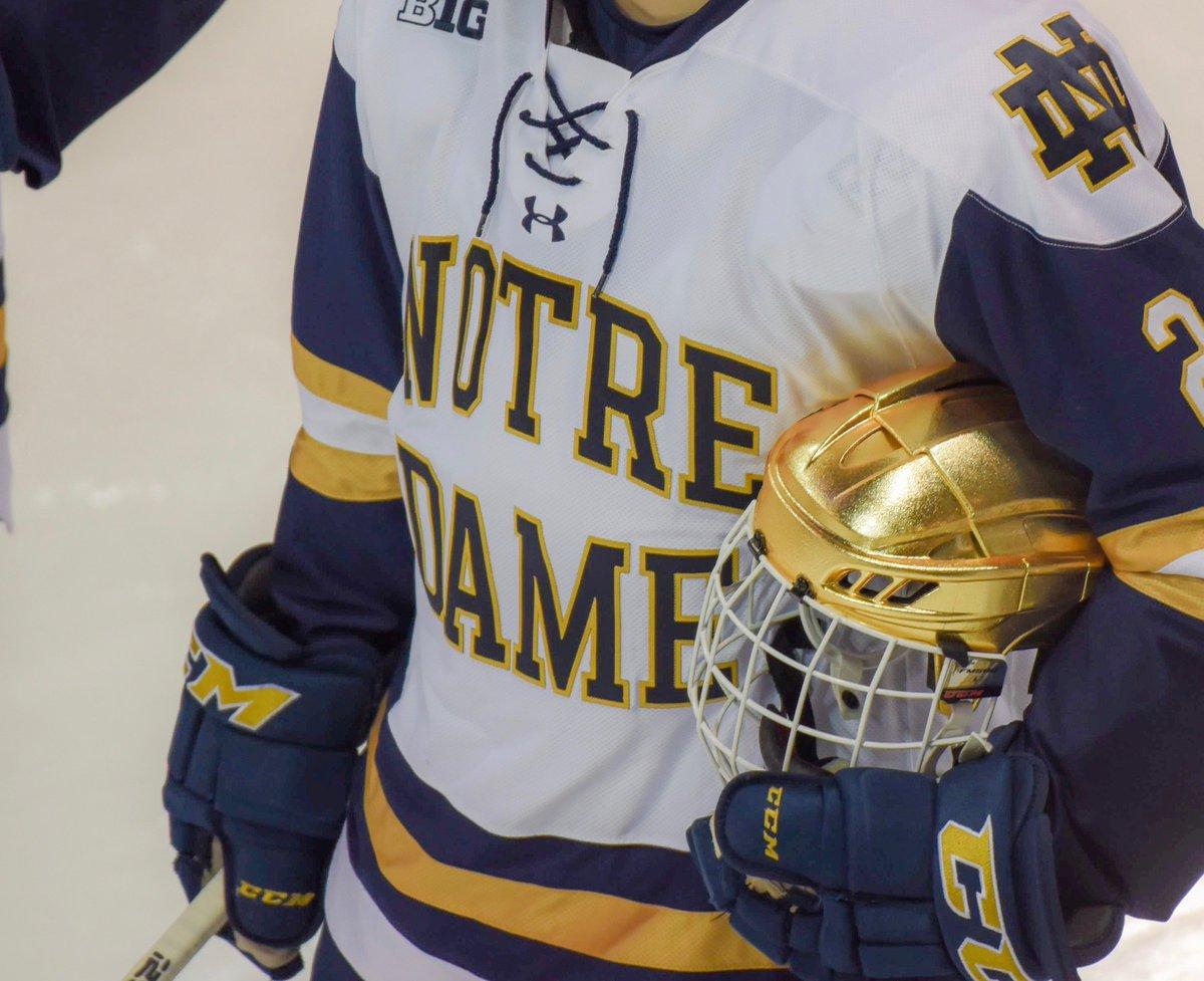 best service fbddc 43e6b Notre Dame Hockey on Twitter: