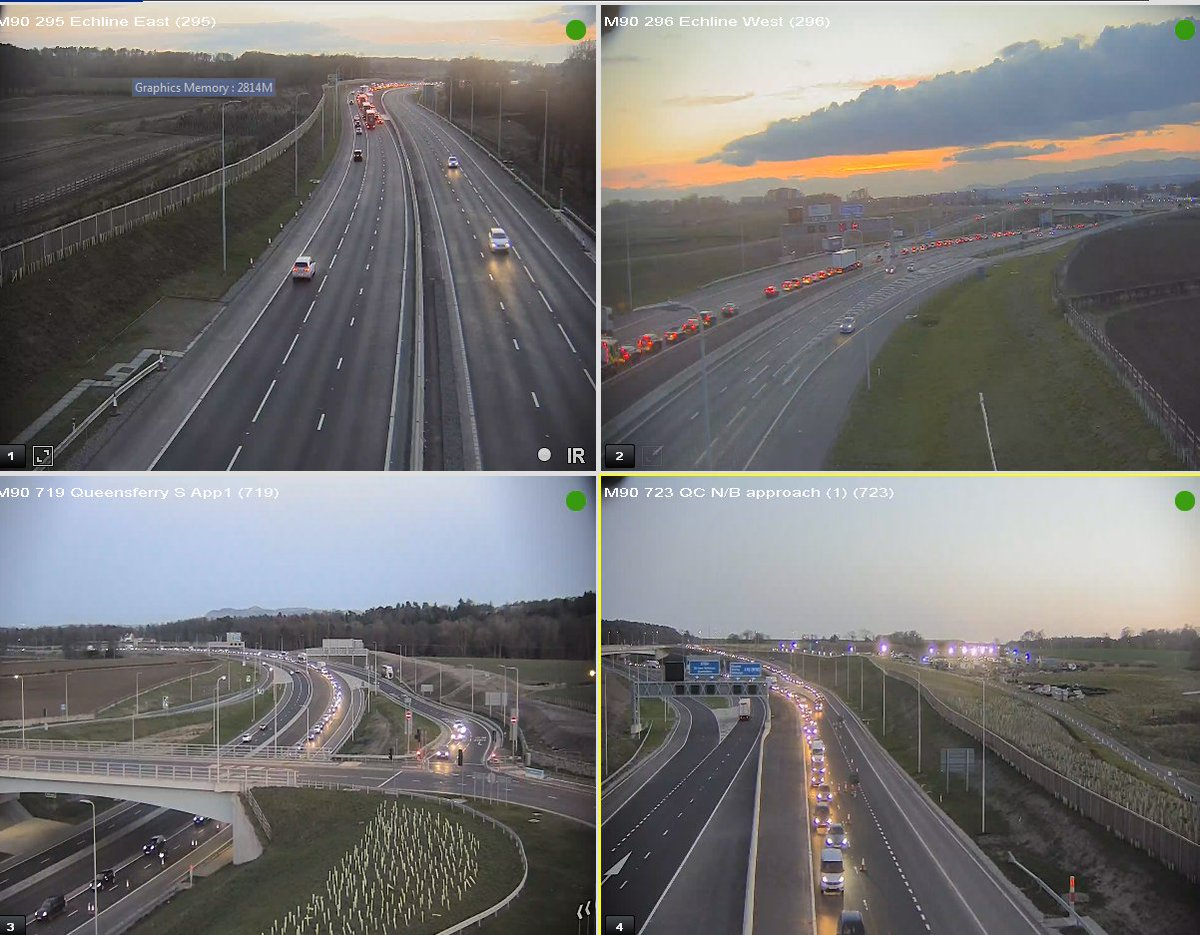 test Twitter Media - #M90 Congestion 20:45 ⌚️  Queensferry Crossing 🚧  Due to Lane 1 closure ⛔️ northbound for roadworks, there is traffic tailing back to Scotstoun 😣  @TheForthBridges @SETrunkRoads https://t.co/vKISxP2r7B