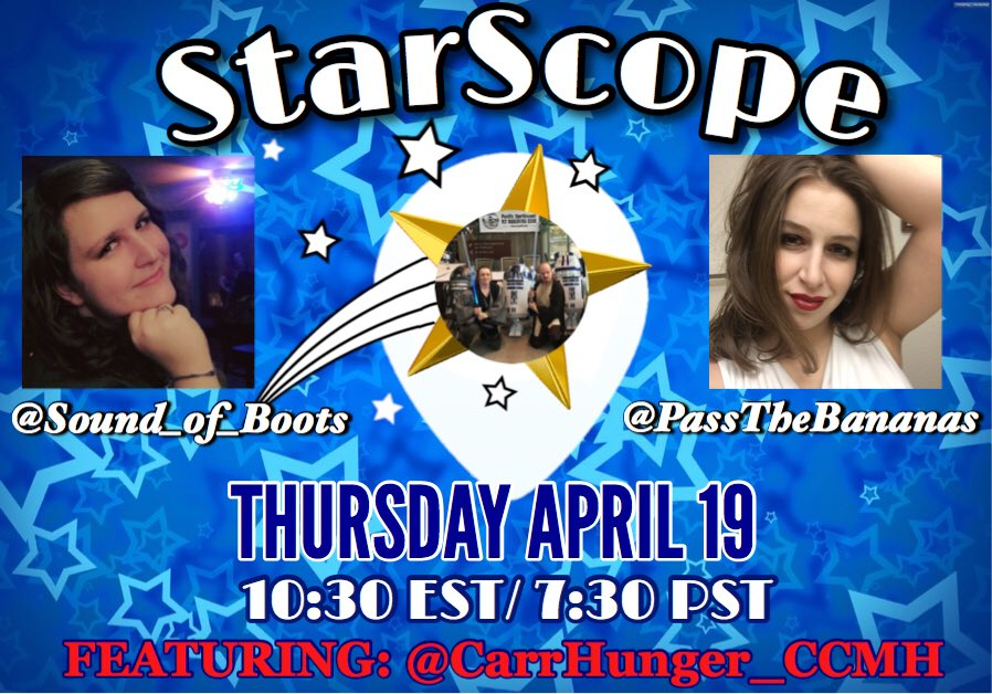 You'll never see the stars if you're always looking down   Be sure to look up tonight and see @carrhunger_ccmh on #StarScope!!! Hosted by @PassTheBananas and yours truly! Only on #Periscope    #BananaBoots #GoLive <br>http://pic.twitter.com/Rq1lrPlUV9
