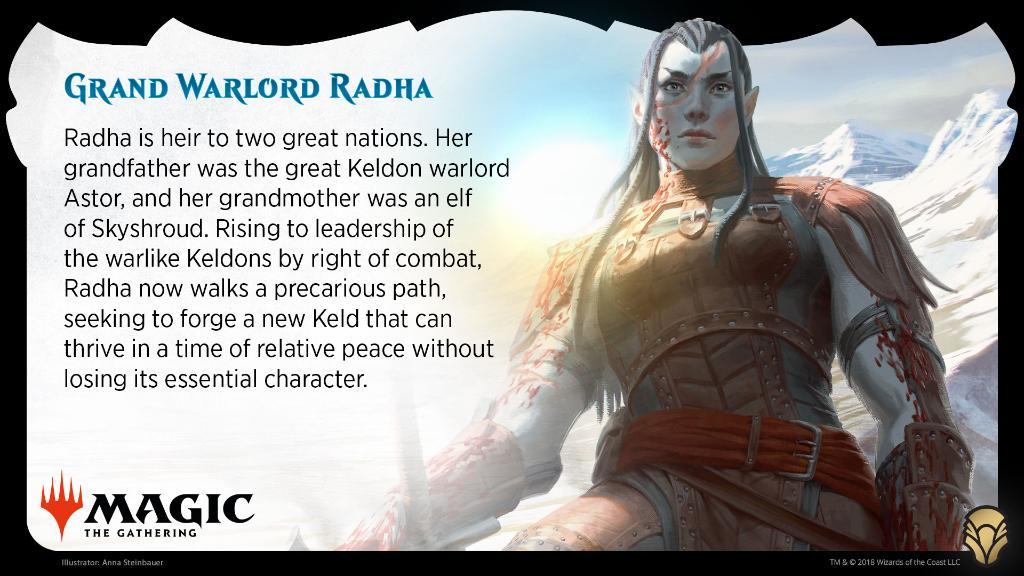 Radha Mtg Magic: The Gathering o...