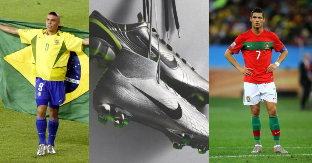 nike re release five iconic world cup boots to celebrate 20 years of the  mercurial 59ade980b3b