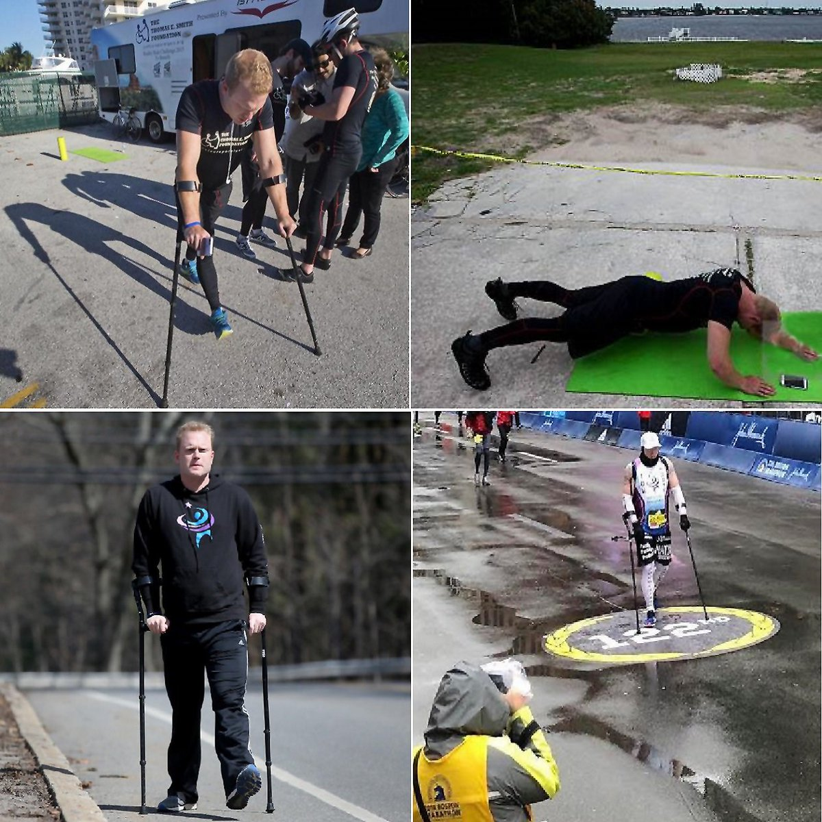 Ambition is the path to success....Twice- paralyzed Swampscott native completes Boston Marathon walk on crutches!  http:// bit.ly/2HdBf1K  &nbsp;   #Crutches #Marathan #boston  #Inspiration #Ambition #Success #Lifewithcrutch #Mobilityaids #Crutcheslife #Mobility #quote<br>http://pic.twitter.com/ACMl97I1UH