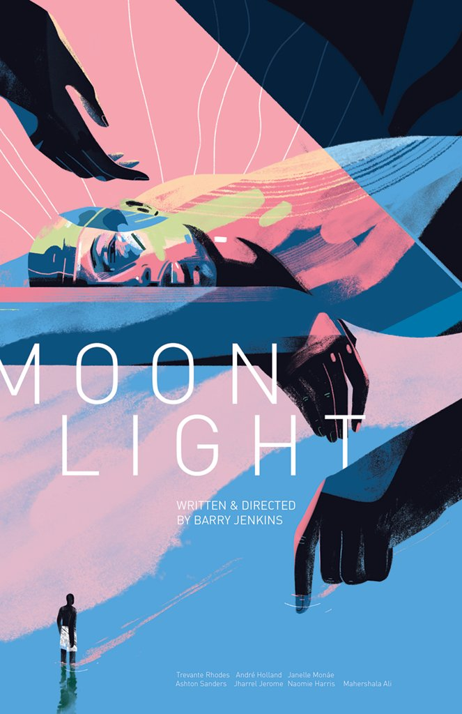 #Moonlight gets the @MondoNews treatment. Limited edition of 225 now on sale: mondotees.com