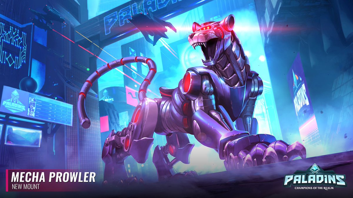 It's a talking robot battle cat. What more do you need to know?! The Mecha Prowler strides into the Realm in OB70 as part of the Battle ...