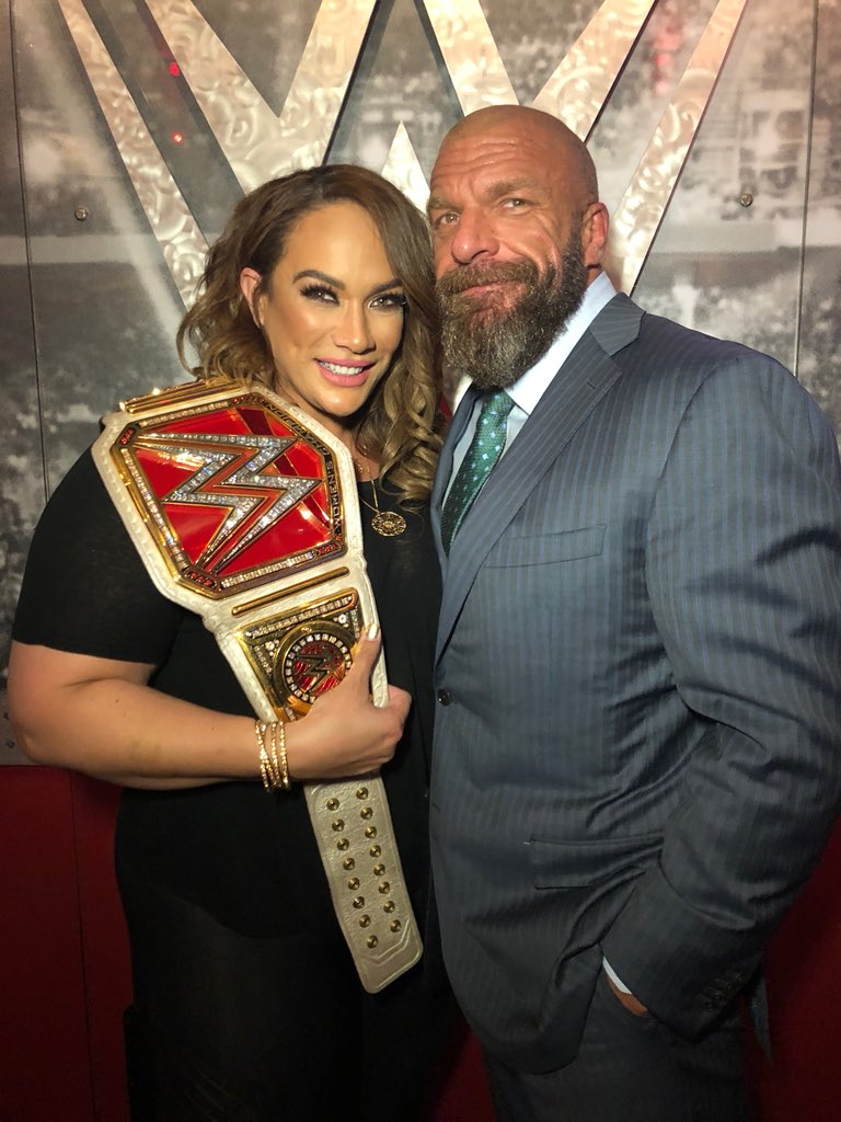 Through her time in @WWENXT and @WWE @NiaJaxWWE has always brought the best version of herself..and now, shes not like most girls...shes an irresistible force and THE #Raw Womens Champion. #WeAreNXT