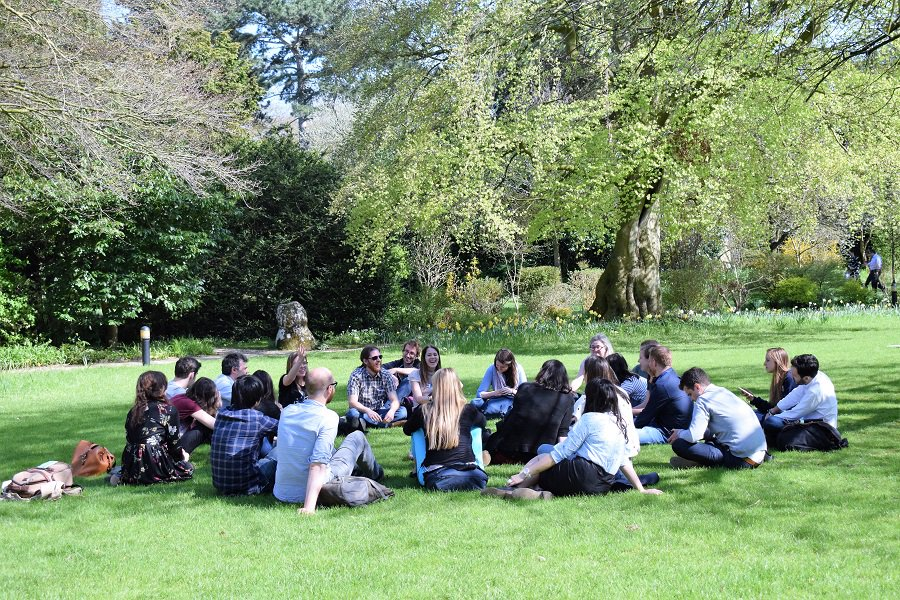 Fantastic discussion of #openscience and #reproducibility at our @OxExpPsy Away Day at beautiful #StHughsCollege yesterday - and more to come next week with #Reproducibilitea journal club!<br>http://pic.twitter.com/P7NfqPwabw