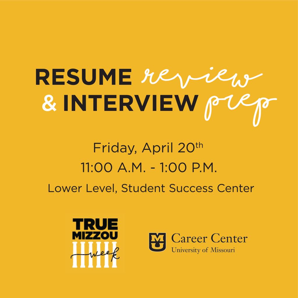 mu career center on twitter celebrate the truemizzouweek with
