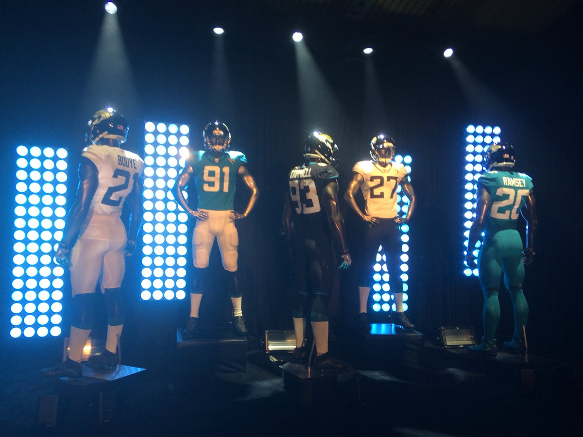 See, read more on the new uniforms revealed by the #Jaguars today
