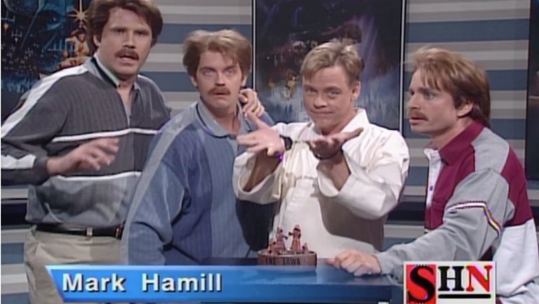 #StarWars: That time @HamillHimself was sold on #SNL https://t.co/0UB0UrJE4b https://t.co/GnEjVM5IqW