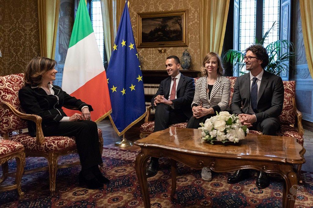 Di Maio-Salvini flop, oggi Casellati torna al Colle.