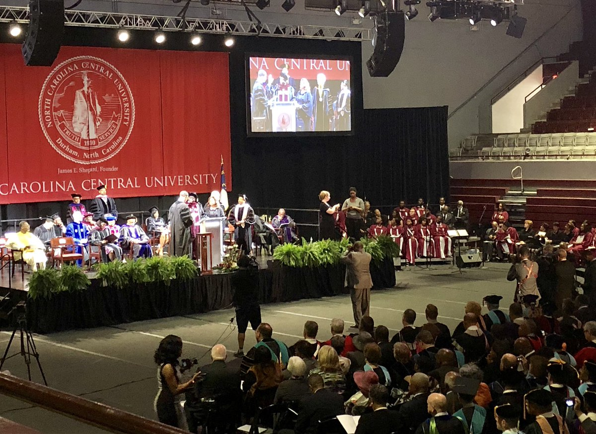 Congratulations @EagleInChief12 on your installation as the 12th Chancellor of @NCCU. Excited to see all you & the Eagles accomplish with the Eagle Promise & look forward to working with you in the future! https://t.co/wj9nQSzHrq