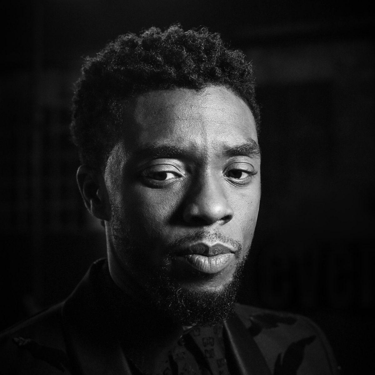 Chadwick Boseman's photo on #TIME100