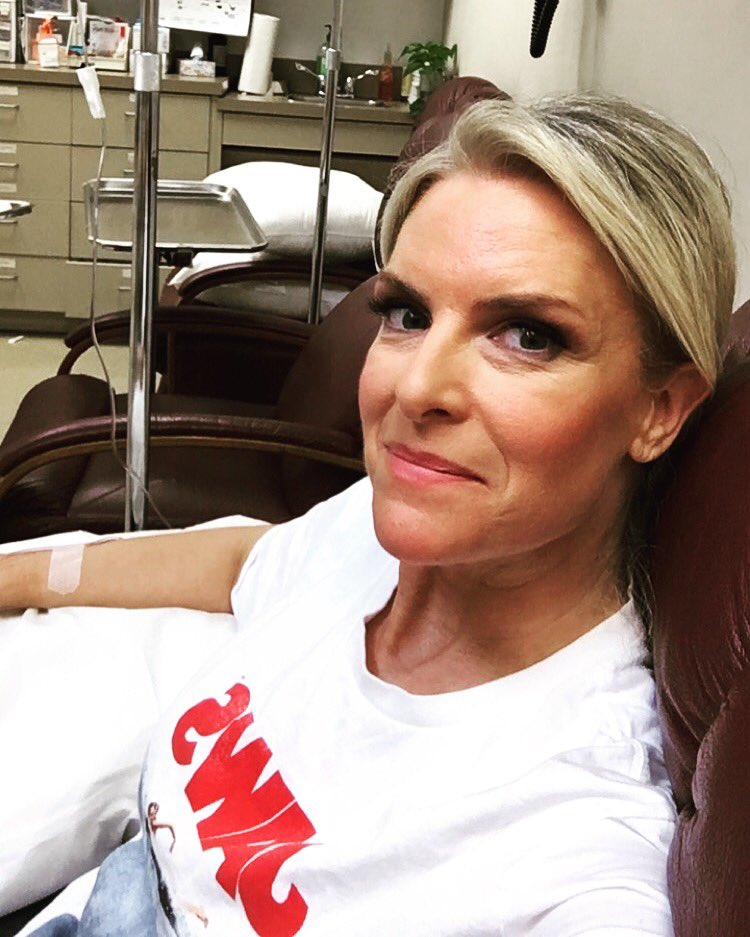 Here we go.  Another round of this new treatment.  Last month was rough but I love a challenge!  #ThisisMS #mswarrior
