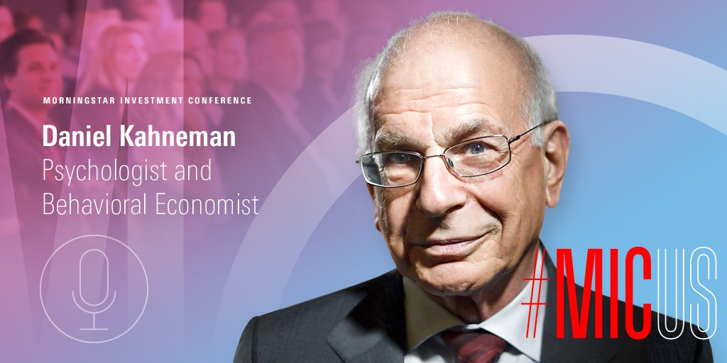 Interested in learning about the psychology of judgment and decision making? Hear from Nobel laureate and founder of #behavioraleconomics Daniel Kahneman at this year's #MICUS in Chicago, June 11-13. Register now: https://t.co/xnVnajW6dZ