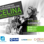 Image for the Tweet beginning: Celina Pagani visitará #Quito y