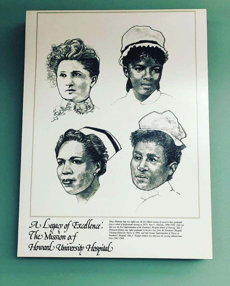 "#TBT Freedmen's Hospital was established during the Civil War in the year of the Emancipation Proclamation, 1863. In 1967, the hospital officially became a part of Howard University and was named ""Howard University Hospital"" in 1975. 💉🔬💊"