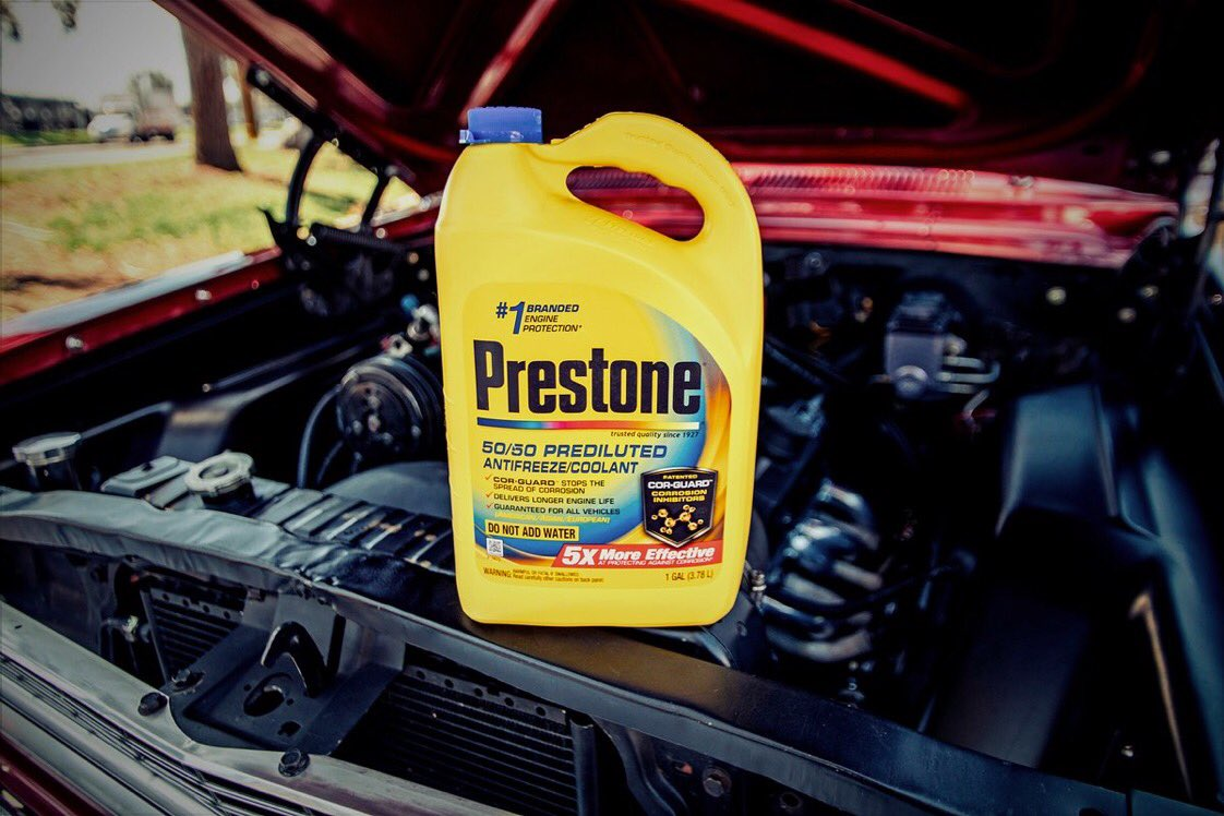 Prestone On Twitter Think Of It As Extra Insurance For Your Engine Coolant Corrosion Around Its Designed To Prevent Before Starts Even In The Spots That Other Coolants Cant Reachpic Hj5t62mpmy