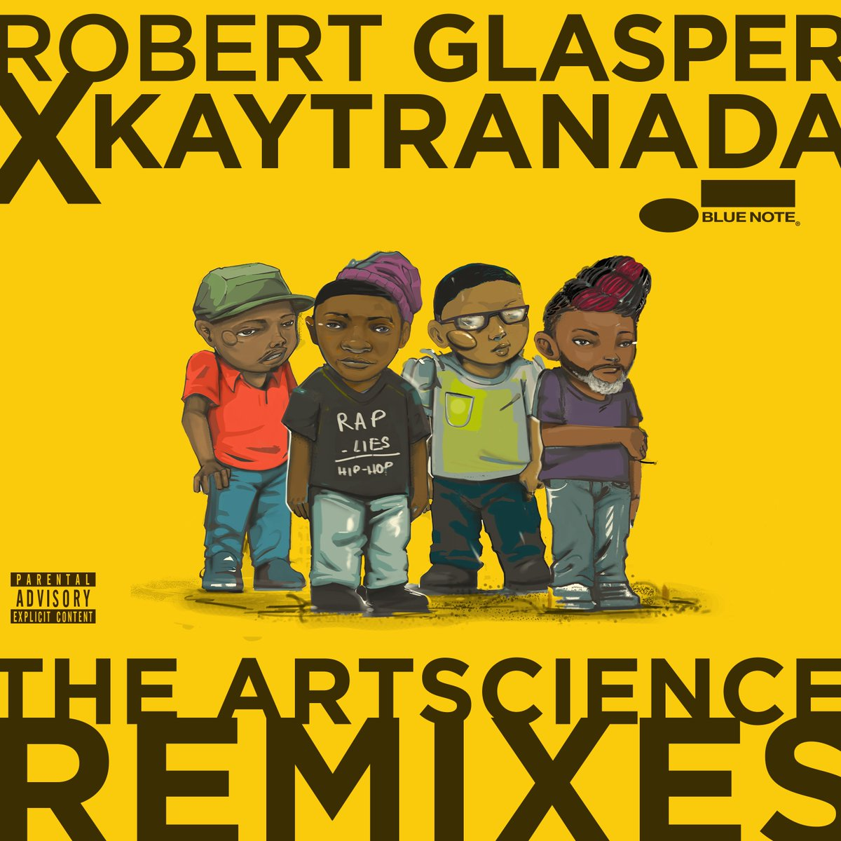 """""""The Artscience Remixes moves with the freewheeling rhythm of a beat tape. The drums are crisp and the keys flow like liquid gold.""""—Pitchfork  Exclusive @recordstoreday vinyl of @robertglasper x @KAYTRANADA 'The ArtScience Remixes' out 4/21! Stream/DL now: https://t.co/AzFqmBAiv5"""