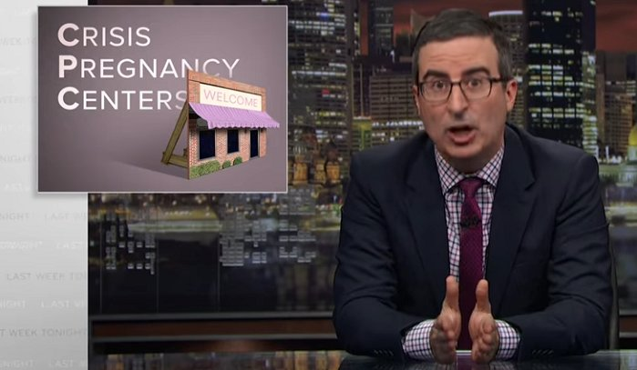 John Oliver Lies About Abby Johnson and Crisis Pregnancy Centers, Here's How https://t.co/7Ibq5J7rDt #prolife #tcot
