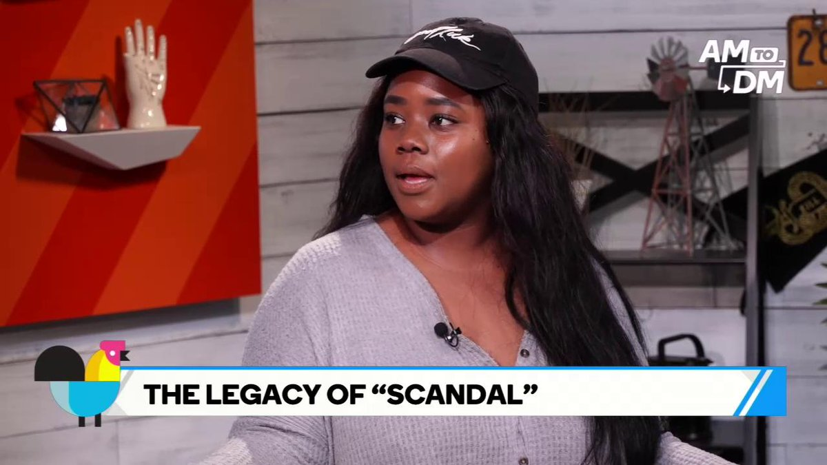 #AM2DM discusses the legacy 'Scandal' will leave behind after a seven-season run