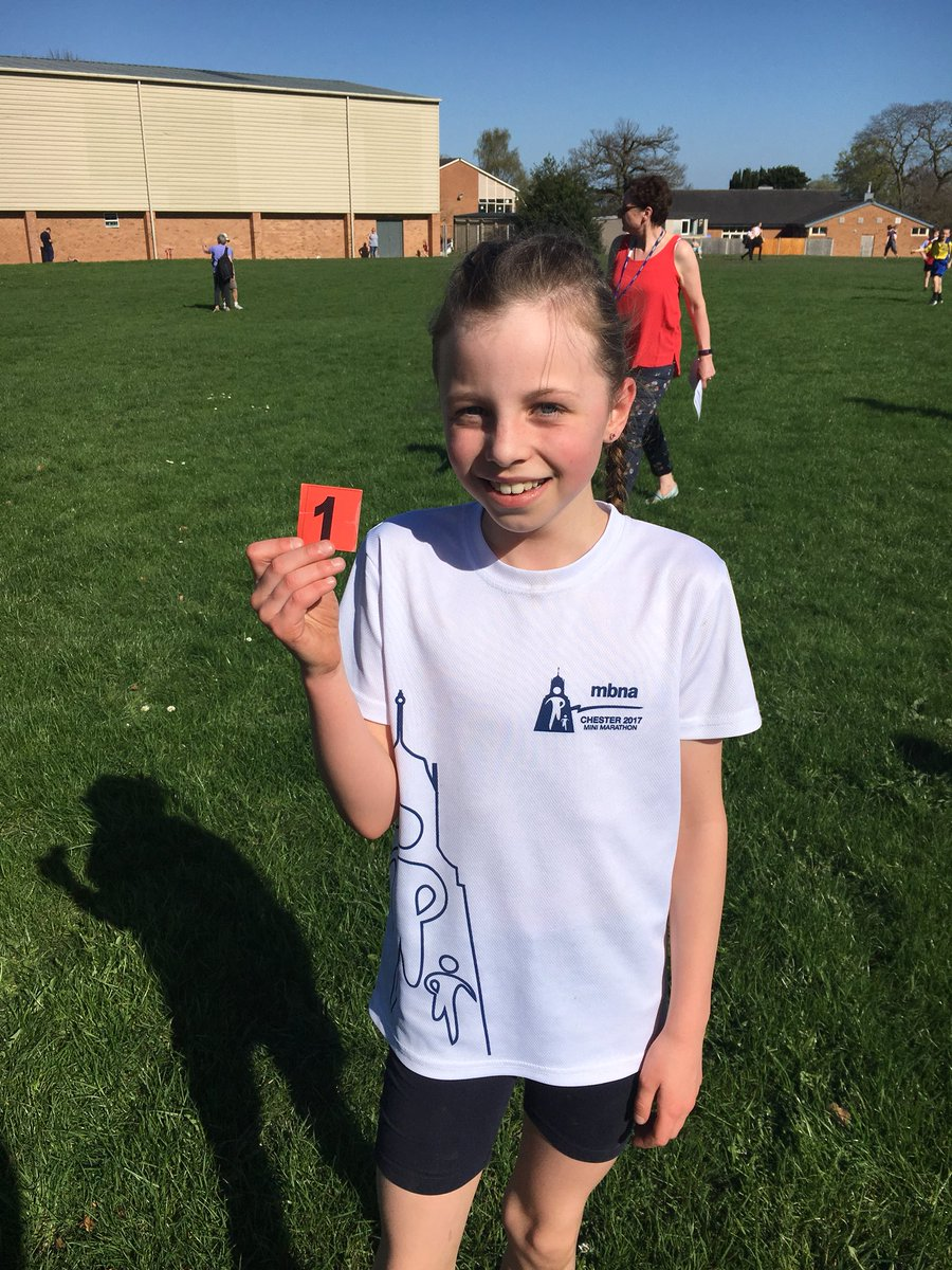 A fantastic first place today at the KS2 cross country! We also had a 5th, 10th and 13th! A brilliant run by all the children considering the heat! @Mo_Farah #futurestars #running