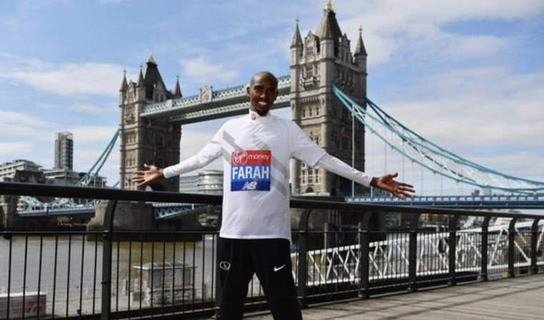 Steve Jones holds the British Marathon record at the moment. He expects that not to be the case after Mo Farah's finished at the #LondonMarathon this weekend.   More: https://t.co/X6jBGxrY3g