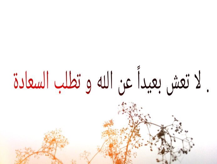 'Allah'tan uzak yaşayıp da mutluluk iste...