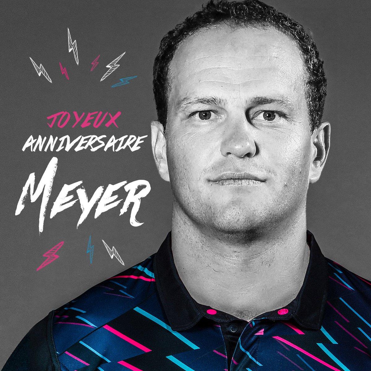 Il n'est pas trop tard et il fête ses 33 ans aujourd'hui ! Joyeux #anniversaire Meyer Bosman 😘🎂 #SFParis