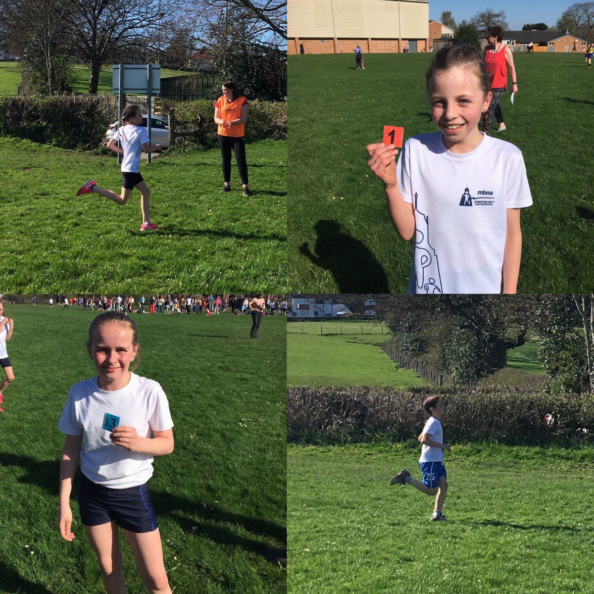 A fantastic run by all the children in the heat at the Oswestry area cross country meet. Well done to everyone, lots of great placings and looking forward to the next one. #FutureStars @Mo_Farah @NWATrust